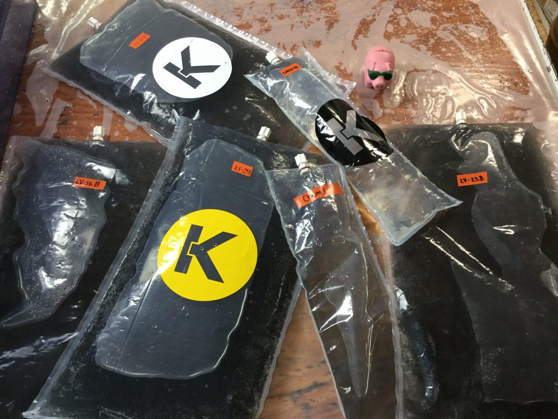 Keika's Kynar Sample Bags